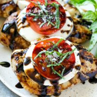 Basil Chicken Caprese
