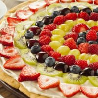 Citrus Fruit Pizza