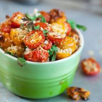 Parmesan Heirloom Cherry Tomatoes