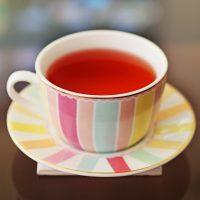 Sweet Peach Balsamic Iced Tea