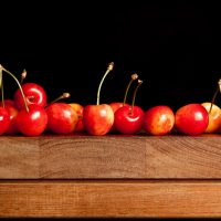Black Cherry Glazed Sundae