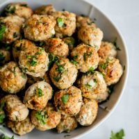 Captain Turkey Meatballs