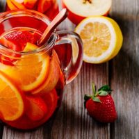 Strawberry Balsamic Sangria