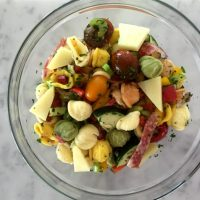 Garlic Orecchiette Salad